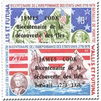 n° 208/209 -  Timbre Wallis et Futuna Poste