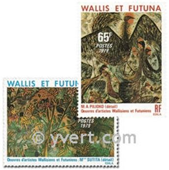 nr. 245/247 -  Stamp Wallis et Futuna Mail