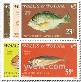 nr. 259/263 -  Stamp Wallis et Futuna Mail