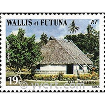 n.o 302 -  Sello Wallis y Futuna Correos