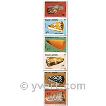 n° 306/311f (feuille) -  Timbre Wallis et Futuna Poste
