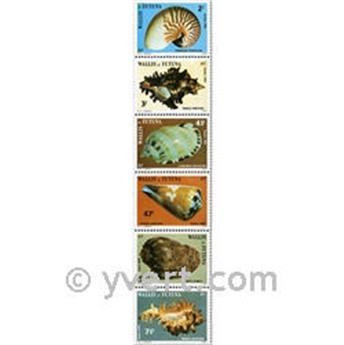 n° 323/328f (feuille) -  Timbre Wallis et Futuna Poste