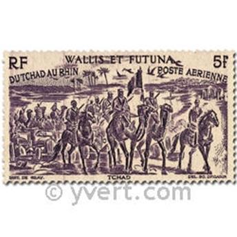 n° 5/10  -  Selo Wallis e Futuna Correio aéreo