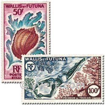 n.o 18 / 19 -  Sello Wallis y Futuna Correo aéreo