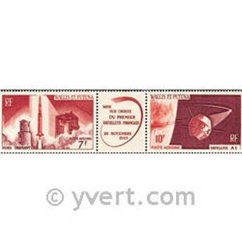 n° 25A -  Timbre Wallis et Futuna Poste aérienne
