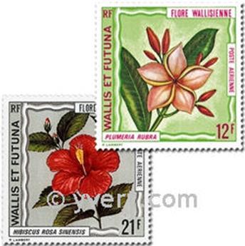n° 49/55  -  Selo Wallis e Futuna Correio aéreo