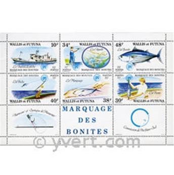 n° 2 -  Selo Wallis e Futuna Blocos e folhinhas