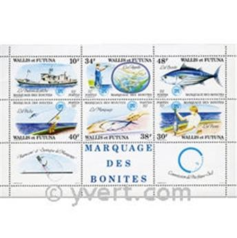 n° 2 -  Timbre Wallis et Futuna Bloc et feuillets