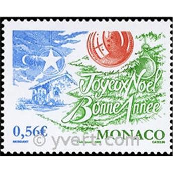 n° 2701 -  Selo Mónaco Correios
