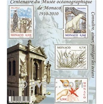 n° 2727/2730 (BF 97) -  Selo Mónaco Correios