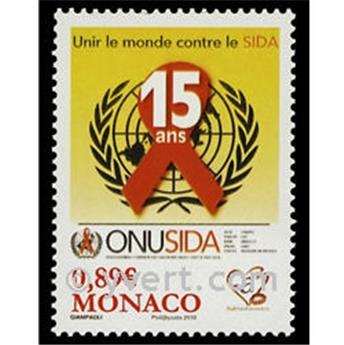 n° 2738 -  Selo Mónaco Correios