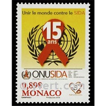 n° 2738 -  Timbre Monaco Poste