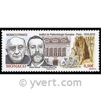 n° 2743 -  Selo Mónaco Correios