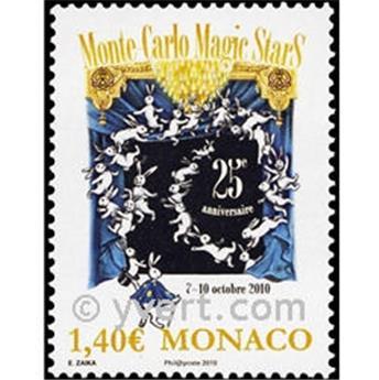 n° 2751 -  Timbre Monaco Poste