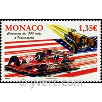 n.o 2760 -  Sello Mónaco Correos