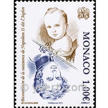 n° 2771 -  Selo Mónaco Correios
