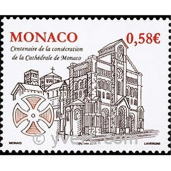 n° 2776 -  Selo Mónaco Correios