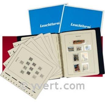 FRANCE SF :  2005-2009 (avec pochettes) LEUCHTTURM