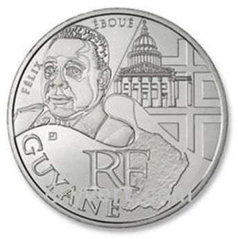 10 € DE LAS REGIONES - GUYANE - 2012