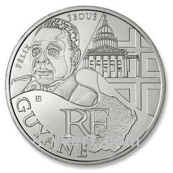 €10 DES REGIONS 2012 - Guyane