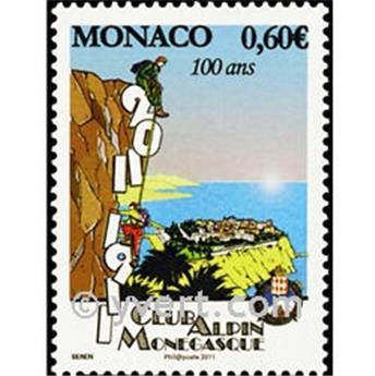 n.o 2792 -  Sello Mónaco Correos