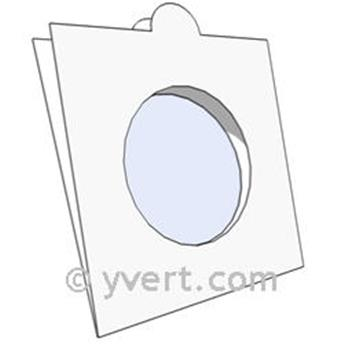 COIN HOLDERS: 32.5 mm - SELF SEALING